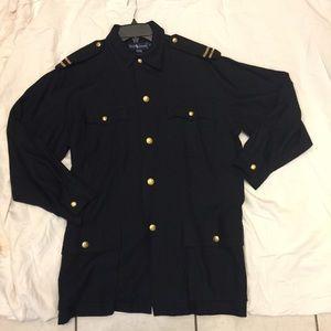 Ralph Lauren medium nautical coat NWT vintage blue